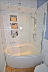 77 Tips On Using Bathtubs Sinking Tubs And Shower Tiles In Your Tiny House Bathroom Design 14