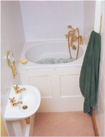 77 Tips On Using Bathtubs Sinking Tubs And Shower Tiles In Your Tiny House Bathroom Design 9