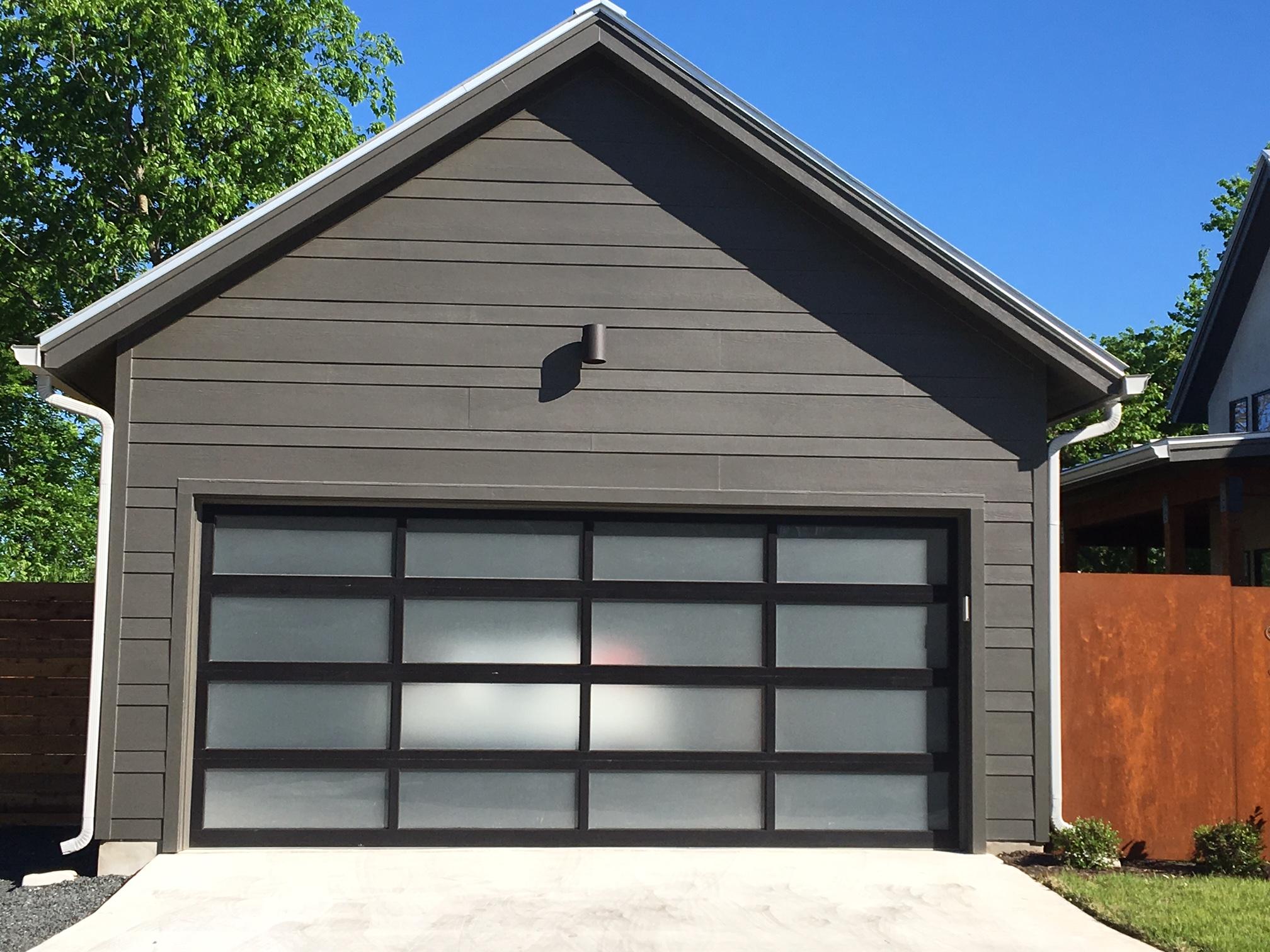 Glass Garage Doors  Dougs Garage Door Service