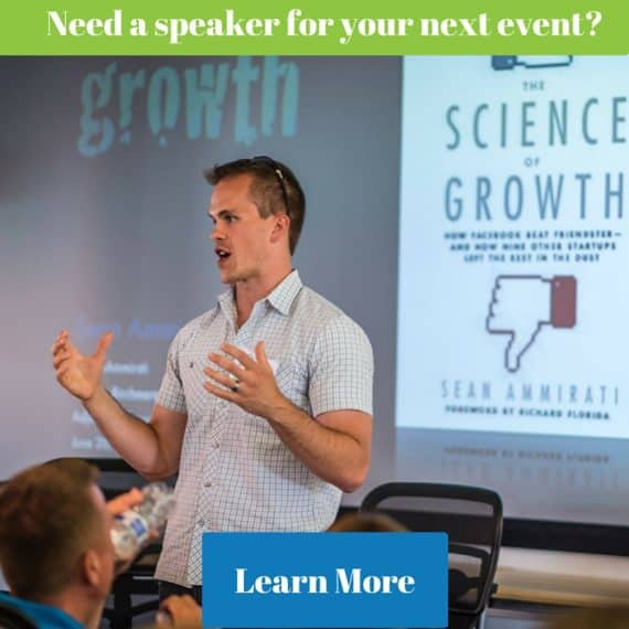 Need a speaker for your next event-
