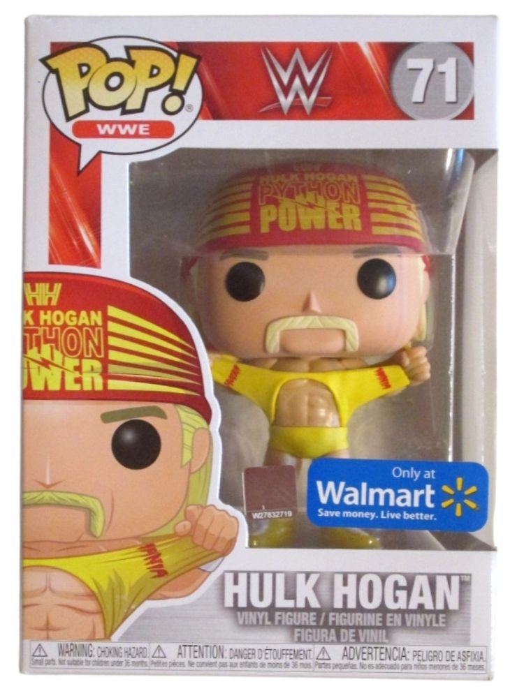 WWE Funko Pop Vinyl Hulk Hogan #71 – Doug's Toy Box