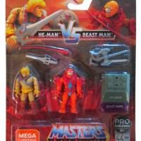 Masters of the Universe MEGA Construx He-Man VS. Beast-Man Pro Builders