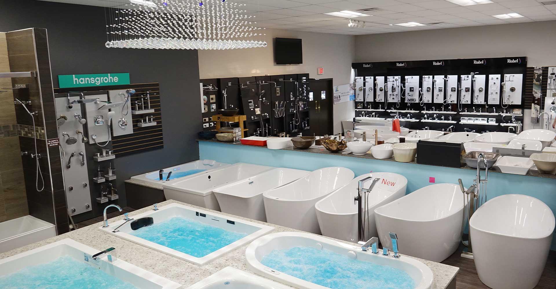 Tubs More Plumbing Showroom Bathtubs More In Weston Fl