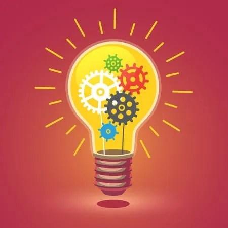 Shining bright idea