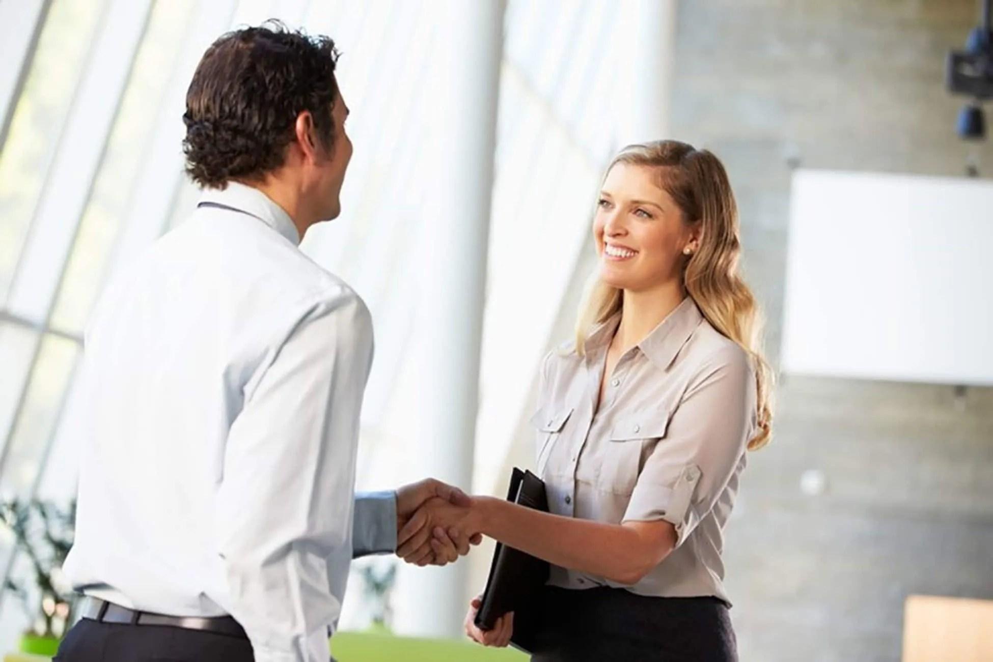 sales greeting