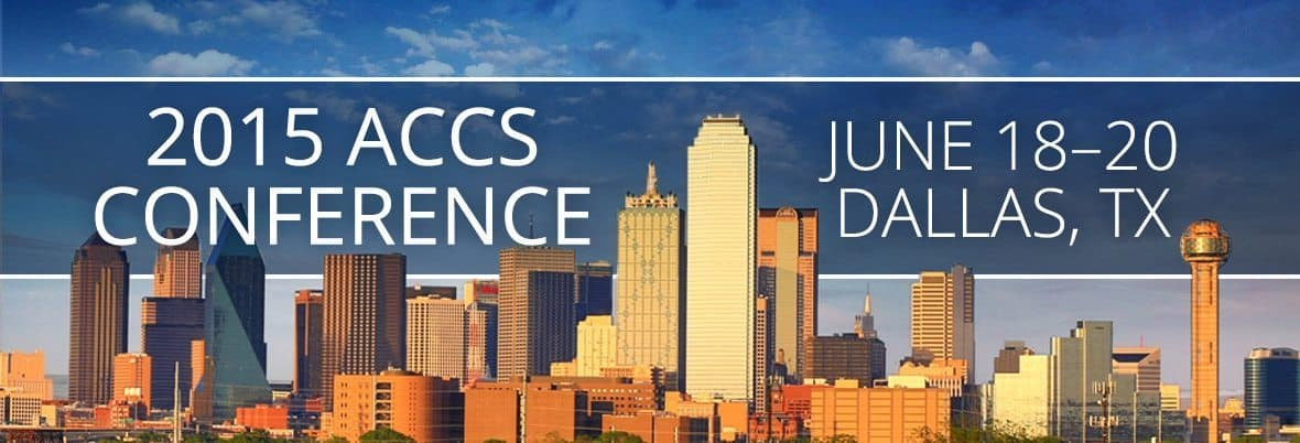 2015 ACCS Conference Dallas TX