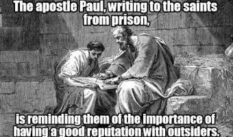 Apostolic Dumpster Scrapings