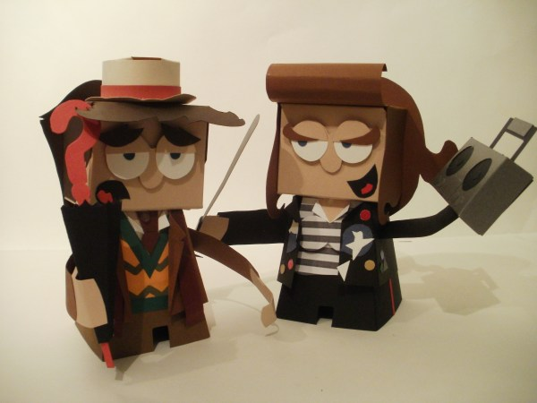 Doctor Paper Toy Box Design Packaging. Dougy74