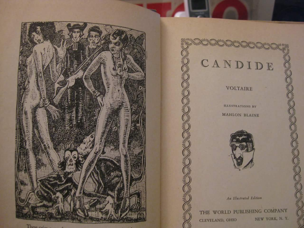 greed in candide