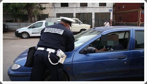 دهس شرطي و فرار السائق