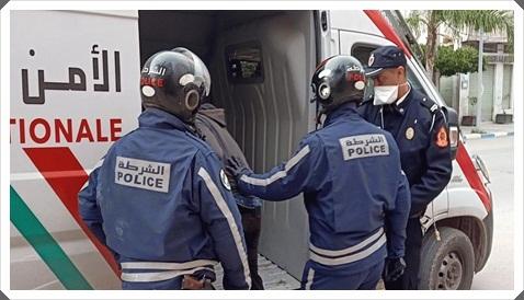 لص من مدينة الجديدة يسرق دراجات مدينة مراكش و الأمن يلقي عليه القبض
