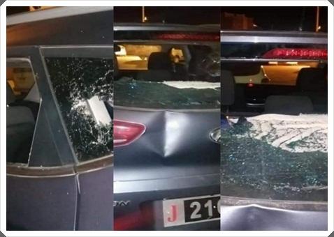 مجهولون يقومون بتخريب سيارة رئيس جماعة تاركا وساي بحي الكويرة بكلميم