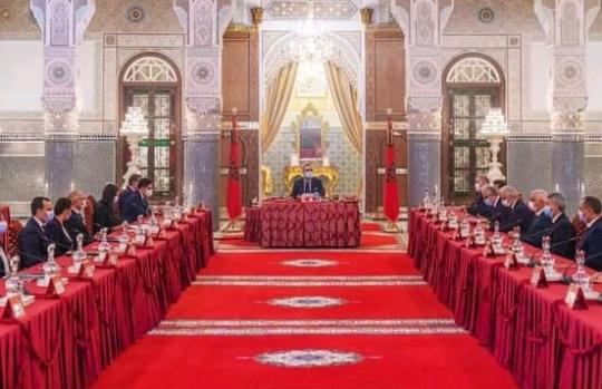 الملك محمد السادس يترأس مجلسا وزاريا بمدينة فاس