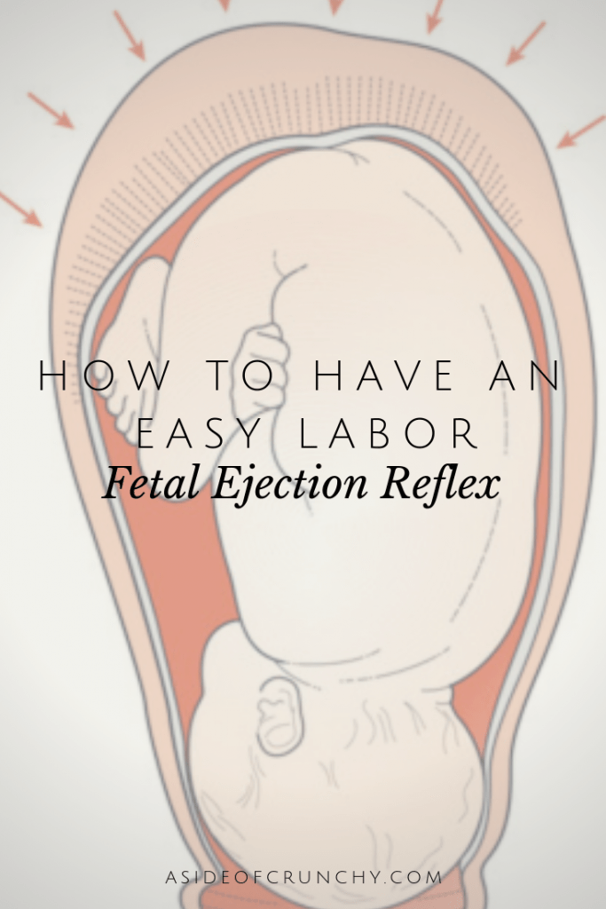 We are often are told when we should push but what if we listen to our bodies and allow fetal ejection reflex to take over? What is FER?