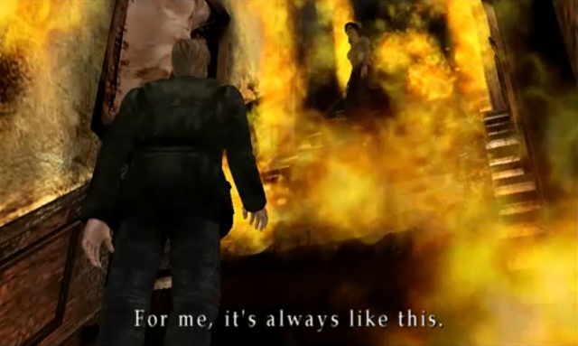 Image result for silent hill room fire