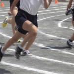運動会速く走る