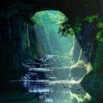 ジブリの滝
