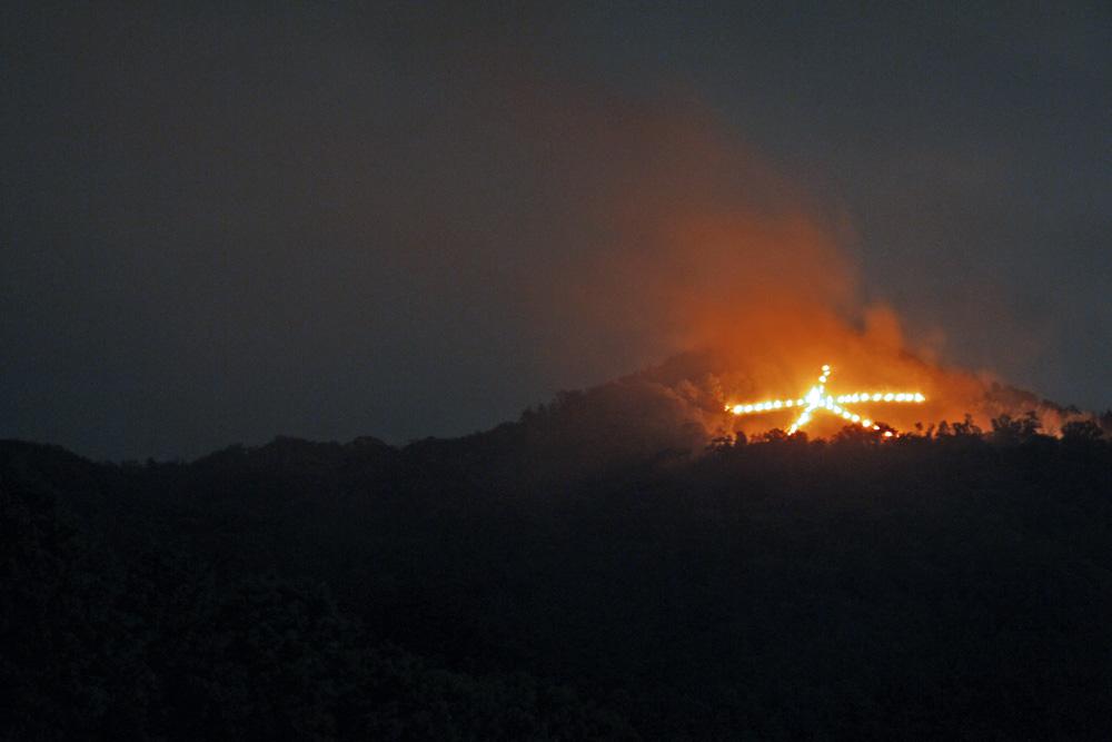五山送り火穴場