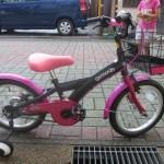 4歳子供自転車16インチ