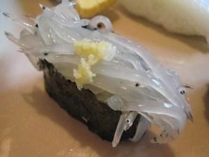 シラウオ 寿司