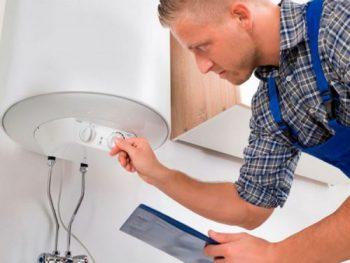 reparação arranjo termoacumuladores