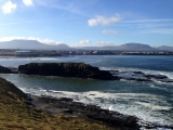 <h5>Bundoran and mountains in the background</h5><p></p>