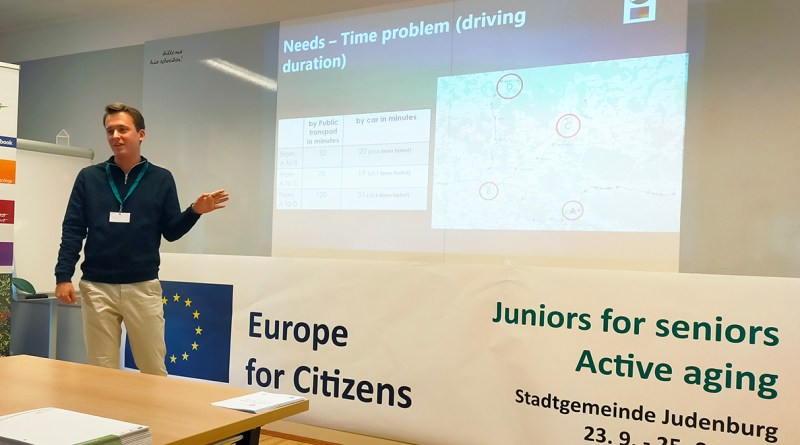 """Best practices on mobility and accessibility in """"Juniors for Seniors"""" encourages towns to do better"""