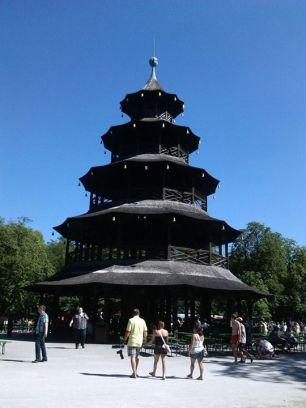 Chinesischer Turm in the Englischer Garten (Summer 2012)