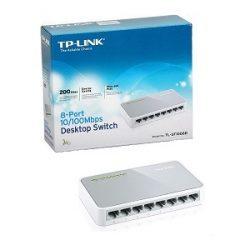Tp-Link TL-SF1008D 10/100mbps 8-Port Desktop Switch