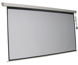 84'' X 84'' Electric Projection Screen