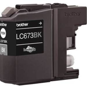 Brother LC-673BK Black Ink Cartridge