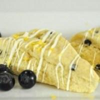 White Chocolate Meyer Lemon Scones
