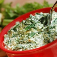 Sweet 'N' Spicy Spinach Dip