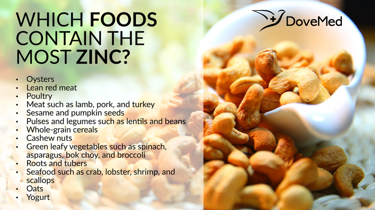 Which Foods Contain The Most Zinc
