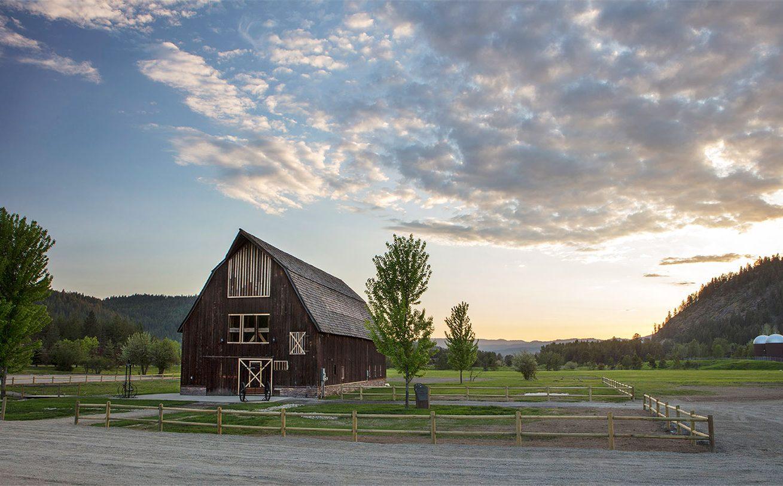 Homestead Barn  Dover Bay Idaho