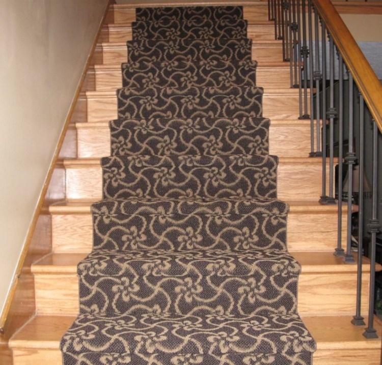 Carpet Stair Runner Carpet Runner Stair Runner | Stair Runners For Carpeted Stairs | Round Corner | Marble | Hardwood | Commercial | Tile Stair