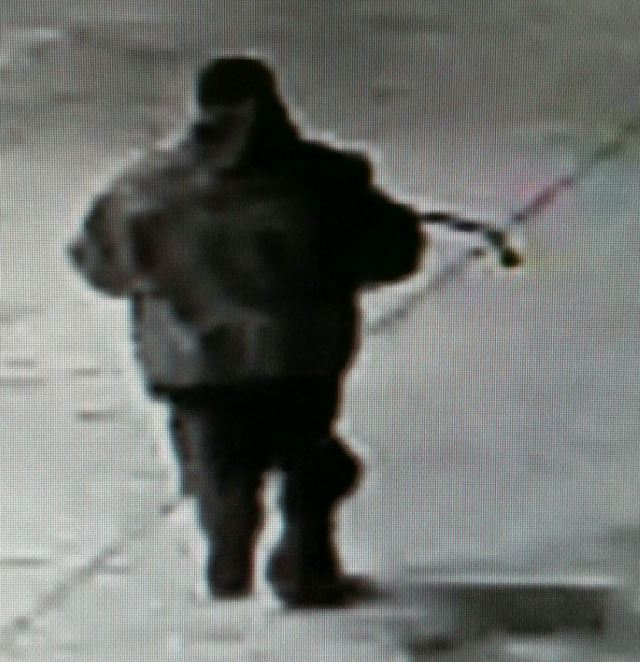 Surveillance image of the suspect