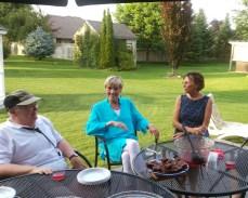 Lydia, Sandy and Lynn