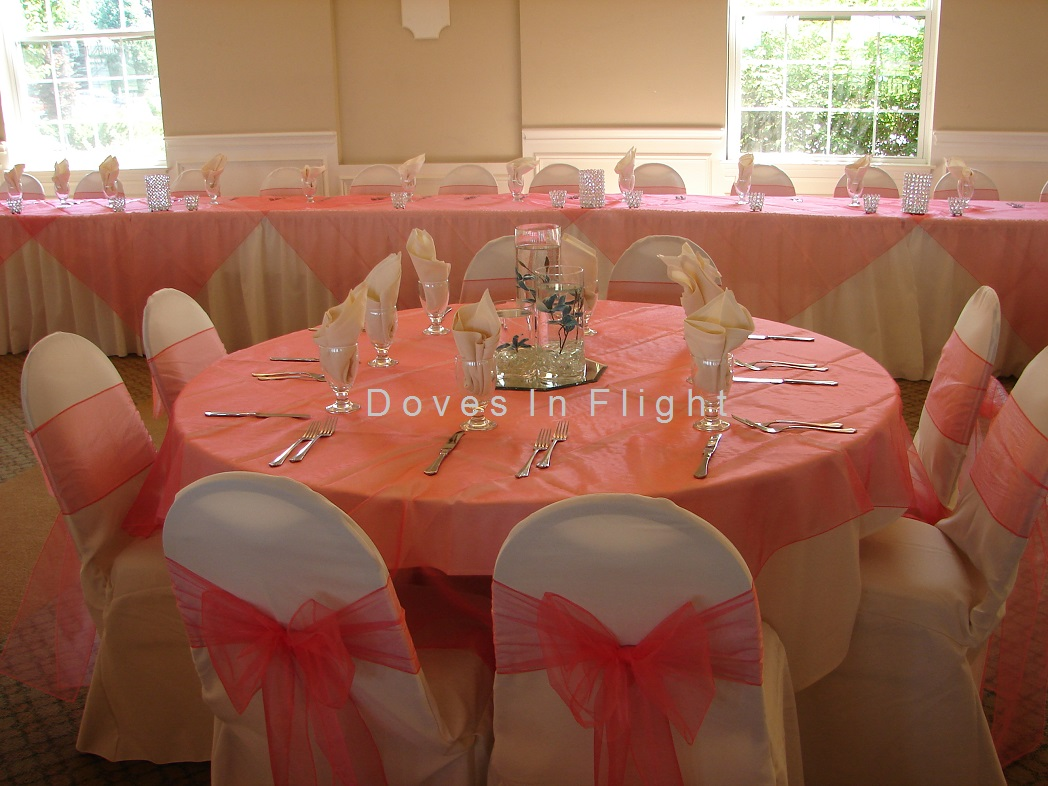 champagne banquet chair covers executive leather of lansing doves in flight decorating