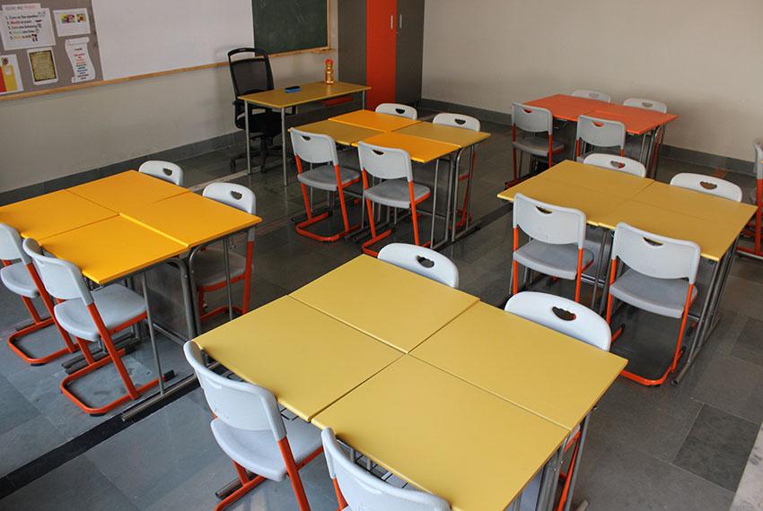 Shiv Nadar School Furniture