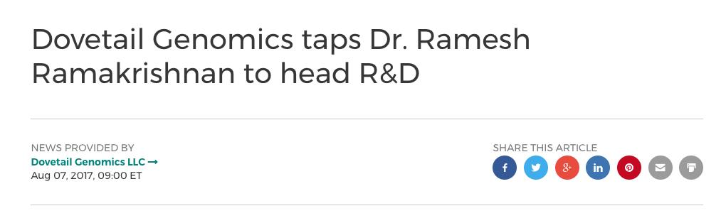 Ramesh Head R&D