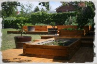 Dovetail Timbers Raised Timber Garden Beds | Dovetail Timbers