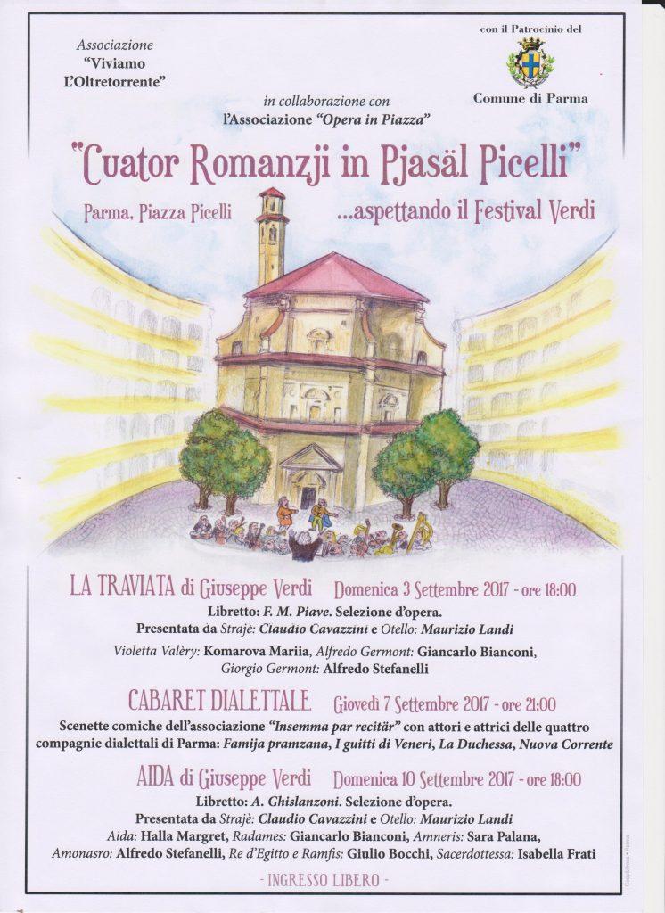 Cuator Romanzji in Piasal Picelli