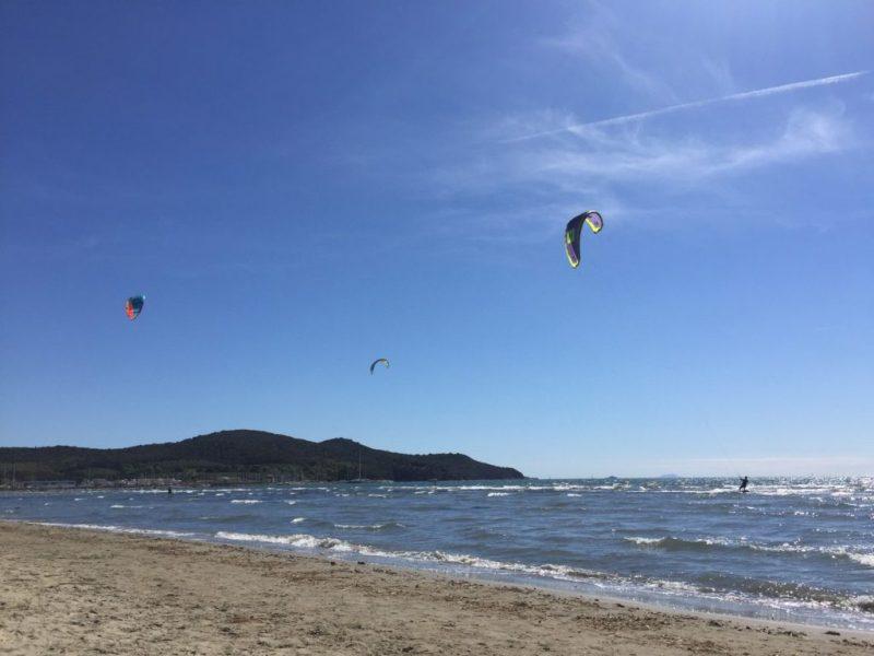 Spiaggia di scarlino kite