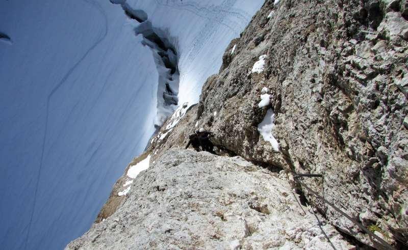 La Ferrata sulla Marmolada - Dolomiti