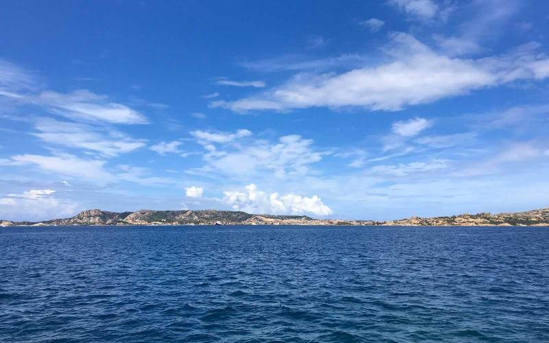 La Maddalena vista da Palau