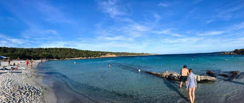 Spiaggia del Relitto panoramica