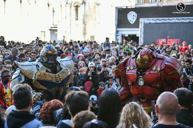 Inauguration Lucca Comics 2017