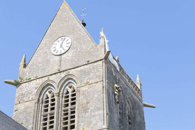 Saint Mary Eglise parachutist