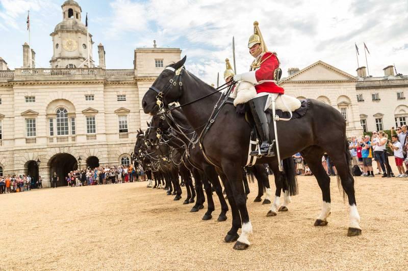 Cambio della guardia a Cavallo